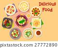 italian cuisine vector 27772890