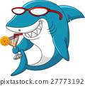 Cartoon shark 27773192