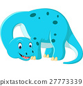 Cute brontosaurus cartoon 27773339