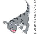 Cartoon tyrannosaurus 27773342