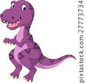 Cartoon dinosaur tyrannosaurus 27773734