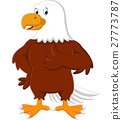 Eagle cartoon giving thumb up 27773787