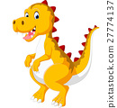 cute baby dinosaur 27774137