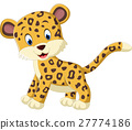 leopard cartoon vector 27774186