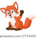 Cute fox cartoon 27774440
