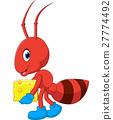 illustration of Cute ant cartoon 27774492