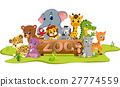 collection of zoo animals 27774559