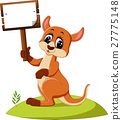 cute Kangaroo cartoon 27775148