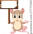 Cute mouse cartoon 27775365
