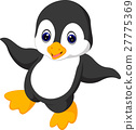 Cute penguin cartoon 27775369