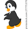 Cute penguin cartoon 27775370