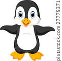 Cute penguin cartoon 27775371