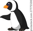 Cute funny emperor penguin 27775500