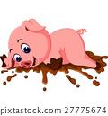 pig cartoon 27775674