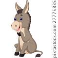 cartoon donkey 27775835