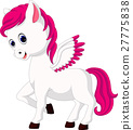 Cute unicorn cartoon 27775838