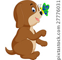 Cute dog cartoon 27776031