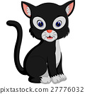 cute cat cartoon 27776032
