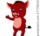 Cartoon warthog 27776035