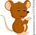 Cute mouse cartoon 27776154