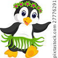 penguin cartoon dancing 27776291