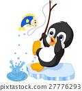 penguin fishing 27776293