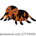 Cute tarantula cartoon 27776495
