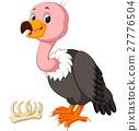 cute Vulture cartoon 27776504