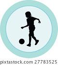 football, kid, ball 27783525