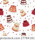 케이크, 이음새없다, 매끄럽다 27784181