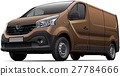 Brown light commercial vehicle 27784666
