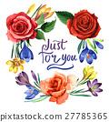 watercolor, wildflower, crocuses 27785365