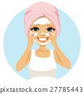 Senior Woman Cream 27785443