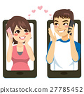 Smartphone Couple Love 27785452
