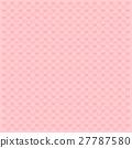 valentine pink heart vector pattern background 27787580