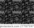 Abstract seamless organic pattern. vector 27787597