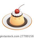布丁 甜食 甜點 27789156