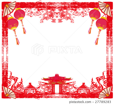 Mid-Autumn Festival for Chinese New Year - frame - Stock ...