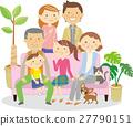 family, person, vector 27790151