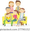 family, person, vector 27790152