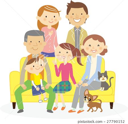 家族 家庭 家人 27790152