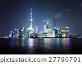 Shanghai at night, China 27790791