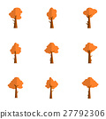 Illustration of tree set various collection 27792306