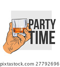 whiskey hand glass 27792696