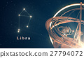 Zodiac Constellation Libra And Armillary Sphere 27794072
