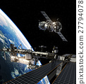 International Space Station And Spacecraft 27794078