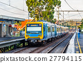 Melbourne Metro Train at Victoria Park station 27794115