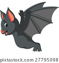 Cute bat cartoon 27795098