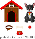 set of dog accessories 27795103