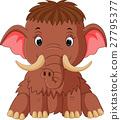 mammoth cartoon 27795377